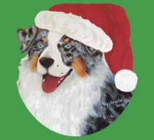 Christmas Aussie Santa by Barbara Applegate