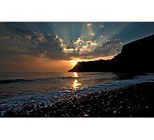 Talisker Sun Rays Photographic Print