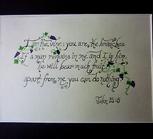 John 15:5 by Works By  Barbara