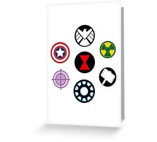 Avengers Move Out! Greeting Card