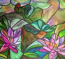 Waterlilies II by Marsha Free