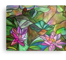 Waterlilies II Canvas Print
