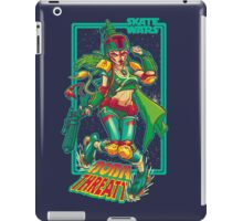 SKATE WARS: BOBA THREATT iPad Case/Skin