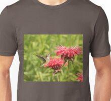 Ruby Throated Hummingbird Unisex T-Shirt