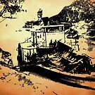 Paddle Steamer by garts