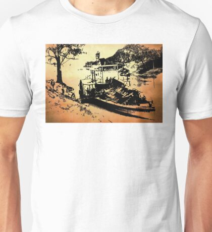Paddle Steamer Unisex T-Shirt