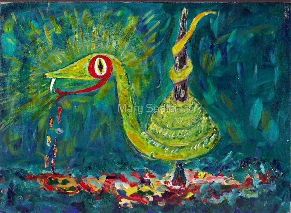 Envy, the Paint Snake  by Mary Sedici