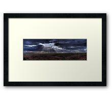 Flooding The Plains Framed Print