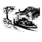 Paddle Steamer Black by garts