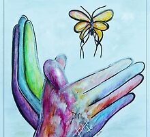 American Sign Language BUTTERFLY by EloiseArt