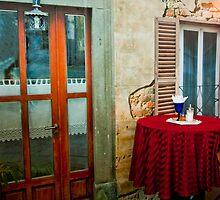 Une Petite Cafe by phil decocco