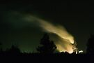 Steam Plume, Condong Sugar Mill, NSW  by Odille Esmonde-Morgan
