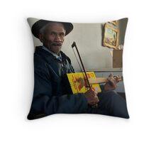 Home-made music Throw Pillow