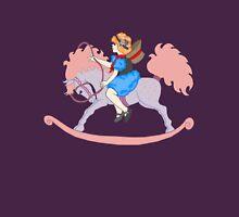 Rocking Horse Girl Unisex T-Shirt
