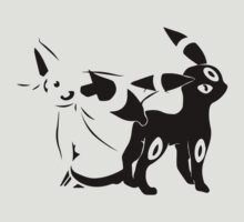 pokemon eevee espeon umbreon anime manga shirt by ToDum2Lov3