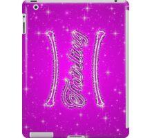 Baton Twirling Sparkle iPad Case/Skin