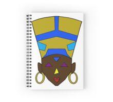 Afrofuturistic Egyptian Queen Spiral Notebook