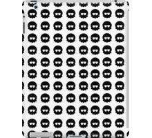 Black skull pattern iPad Case/Skin