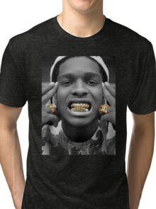 ASAP Rocky Golden Tri-blend T-Shirt