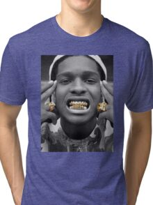 ASAP Rocky Golden Tri-blend T-Shirt