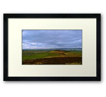 4000 Years of  Peat Land - Donegal Framed Print