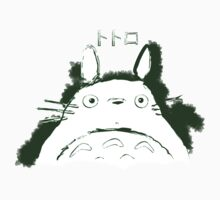 Neighbor Ink Scroll Totoro Kids Tee