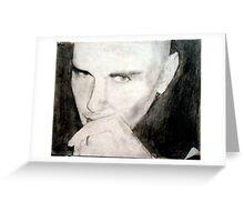 Portrait of Billy Corgan Greeting Card