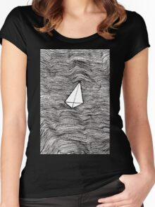 Paper Planes. By Ane Teruel Women's Fitted Scoop T-Shirt