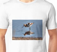 Avocet (reflected) Unisex T-Shirt