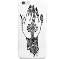 Hand of delicacy. By Ane Teruel.  iPhone Case/Skin