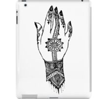 Hand of delicacy. By Ane Teruel.  iPad Case/Skin