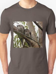 Frogmouths: Thinking of Springtime.  T-Shirt
