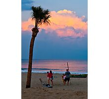 Sunset at Long Branch Photographic Print
