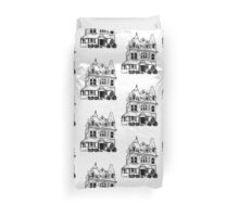 Grand Old Victorian House Duvet Cover