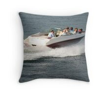 Boating Anyone? Throw Pillow