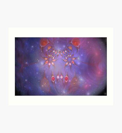 Ovaries- Good vs Evil in the Nebula Art Print