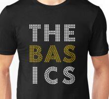 """The Basics"" - Wait For You design (white & gold) Unisex T-Shirt"