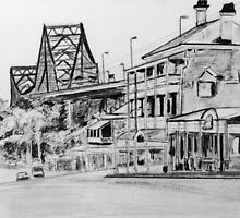 Story Bridge turns 75 by gillsart