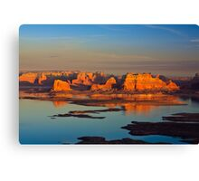 Sunset on Lake Powell Canvas Print