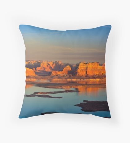 Sunset on Lake Powell Throw Pillow