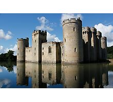 The Medieval Bodiam Castle in England Photographic Print