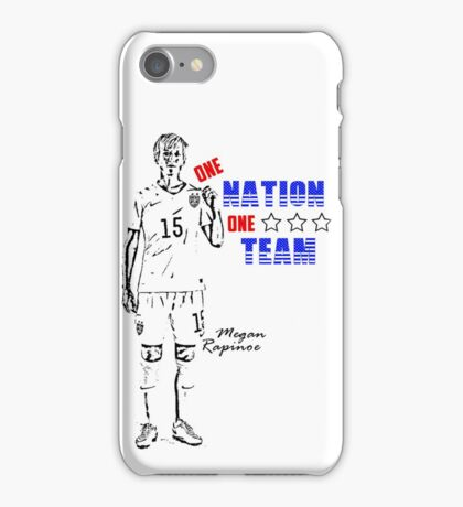 One Nation, One Team - Megan Rapinoe Edition iPhone Case/Skin