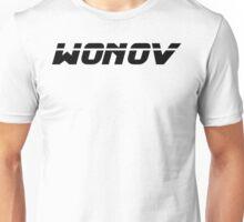 Wonov Text Plain Black Unisex T-Shirt