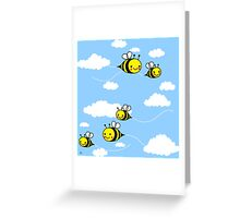 Cute As Can Bee Greeting Card