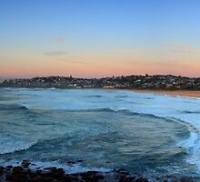 North Curl Curl Panorama by Sharon Kavanagh
