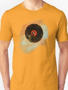 Vinyl Record Retro T-Shirt - Vinyl Records New Grunge Design T-Shirt