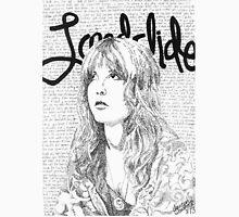 Stevie Nicks Landslide Lyrics Womens Fitted T-Shirt