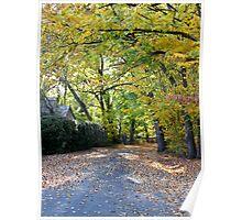 ~ Autumn in Oakbank ~ Poster