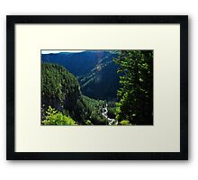 Spahats Creek - Wells Gray Provincial Park Framed Print