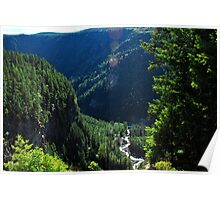 Spahats Creek - Wells Gray Provincial Park Poster